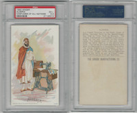 H639 Singer Sewing, Costumes of all Nations, 1892, Algeria, PSA 5.5 EX+