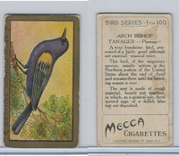 T42 American Tobacco, Birds, 1910, Arch Bishop Tanager