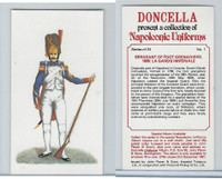 P72-00 Player, Napoleonic Uniforms, 1980, #1 Foot Grenadiers, 1806