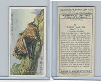 P72-153 Player, Animals of Countryside, 1939, #10 Great Bat or Noctul