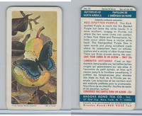 F450-6 Brook Bond, Butterflies North America, 1965, #22 Red Spotted Purple