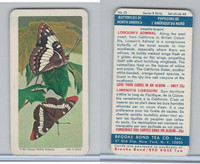 F450-6 Brook Bond, Butterflies North America, 1965, #23 Lorquins Admiral