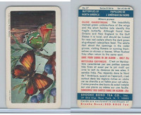 F450-6 Brook Bond, Butterflies North America, 1965, #27 Olive Hairstreak