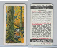 FC34-12 Brook Bond, Trees North America, 1968, #17 Balsam Poplar