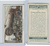 O2-140 Ogdens, Construction Trains, 1930, #22 Fitting Motion Parts