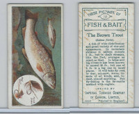 C11 Imperial Tobacco, Fish & Bait, 1924, #12 Brown Trout