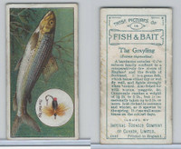 C11 Imperial Tobacco, Fish & Bait, 1924, #14 Grayling