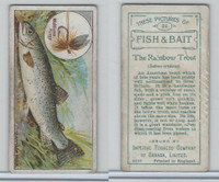 C11 Imperial Tobacco, Fish & Bait, 1924, #22 Rainbow Trout