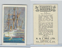 H46-87 Hill, Famous Ships, 1940, #50 The Euphrates
