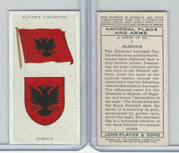 P72-171 Player, National Flags & Arms, 1936, #1 Albania