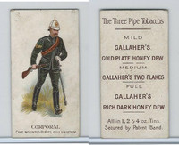 G12-7c Gallaher, Types British Army, 1898, #84 Corporal, Cape Mounted