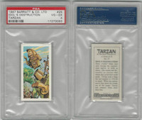B0-0 Barratt, Tarzan, 1967, #25 Idols Destruction, PSA 4 VGEX