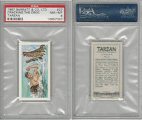 B0-0 Barratt, Tarzan, 1967, #27 Cracking The Croc, PSA 8 NMMT