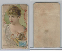 N295 Mayo Cut Plug Tobacco, Actresses, 1888, Belle Archer