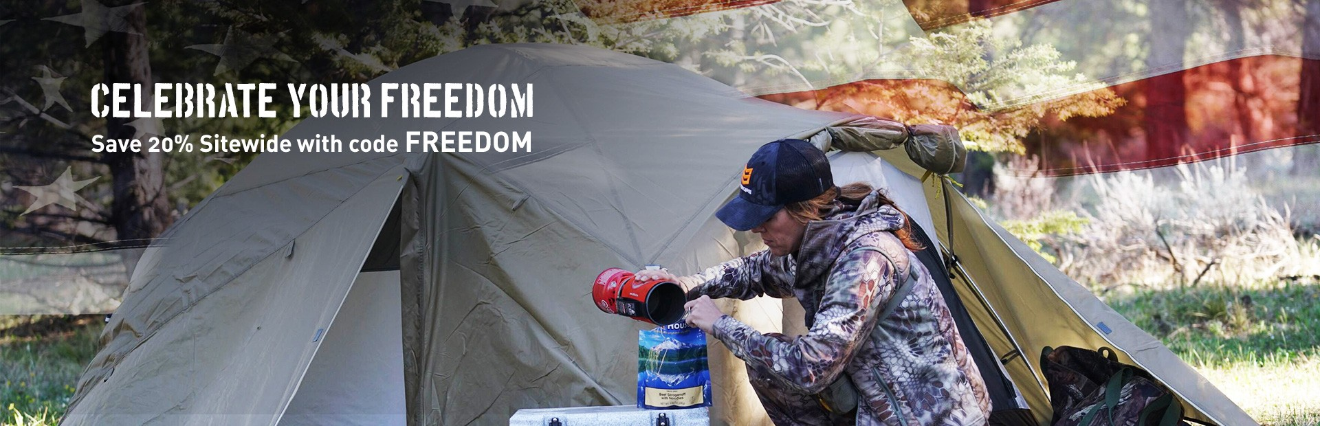Save 20% Sitewide With Code FREEDOM