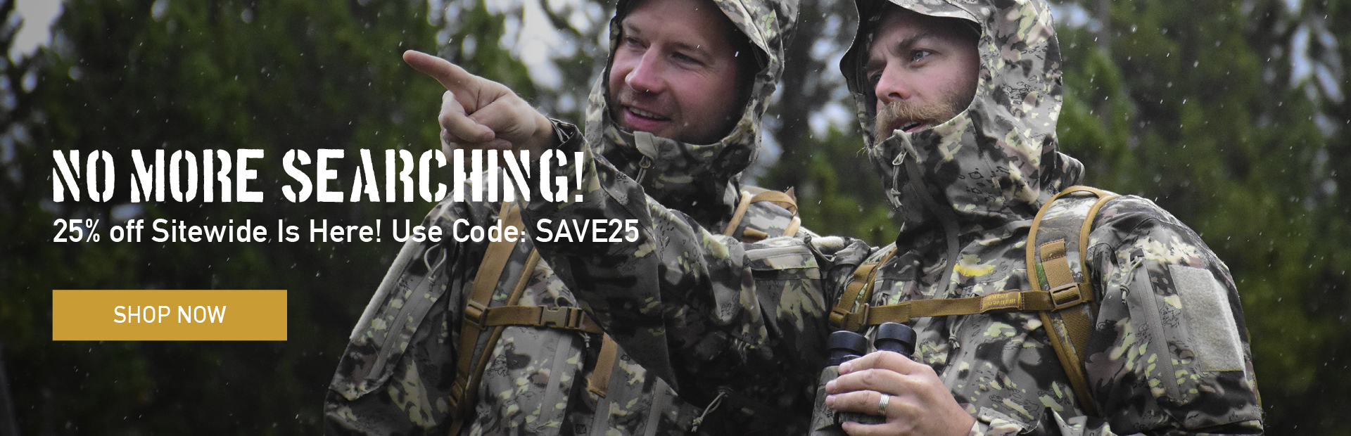 Save 25% With Code SAVE25