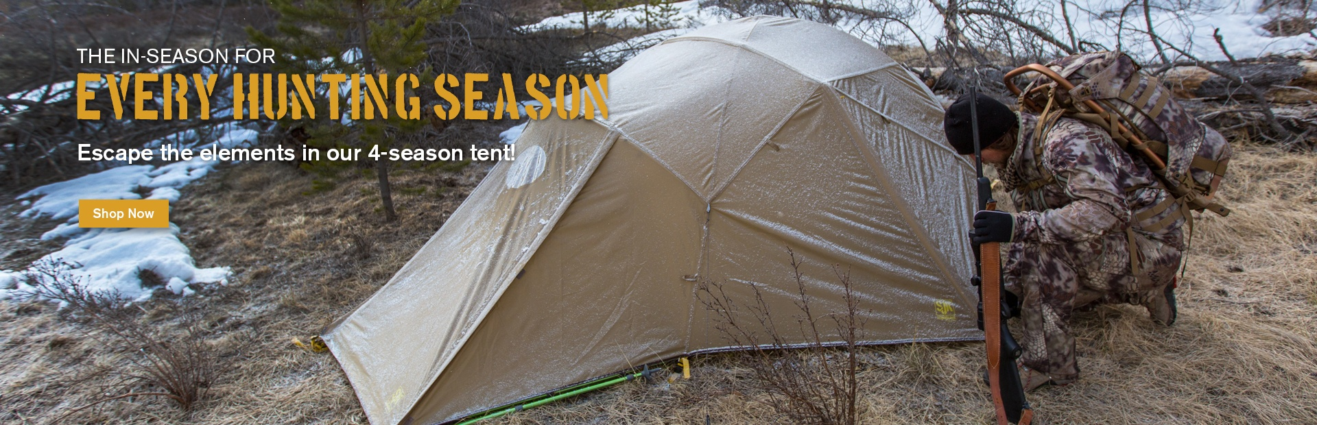 The In-Season Tent: For Every Hunting Season