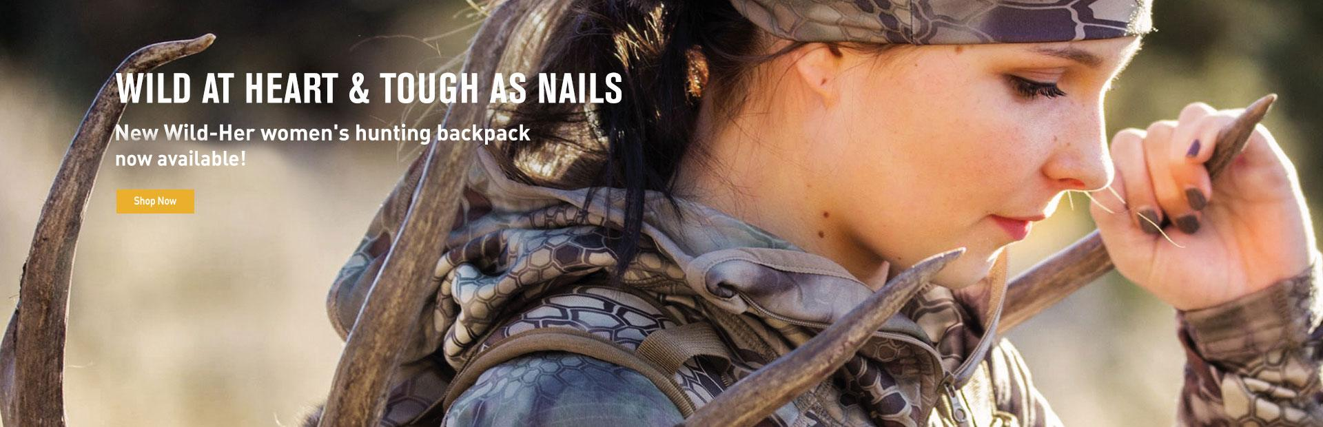 New Wild-Her Women's Hunting Backpack is Coming Soon!