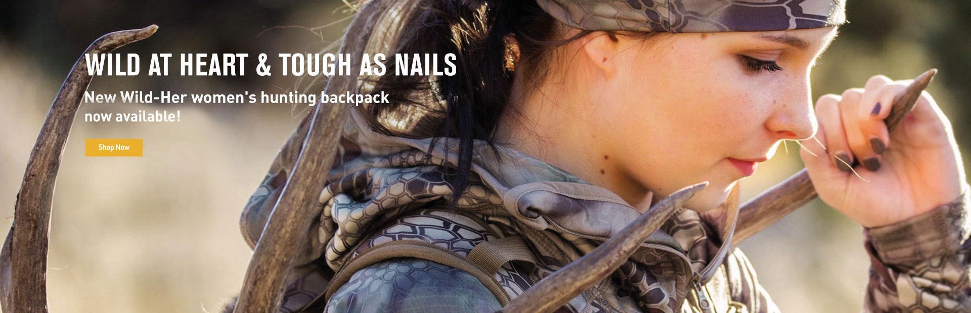 New Wild-Her Women's Hunting Pack