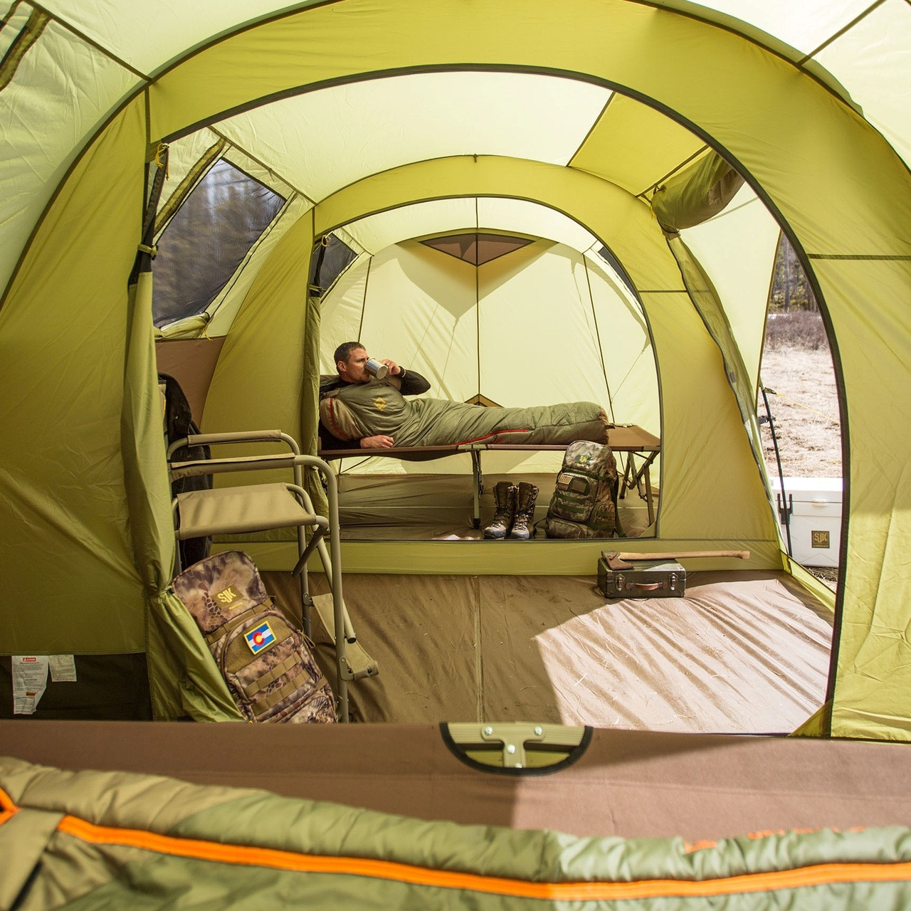 Videos : slumberjack 2 person tent - memphite.com