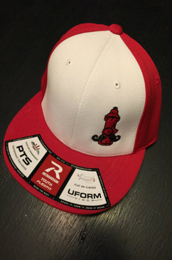 Kids Hydrant Hat Red/White