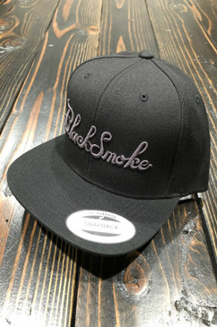 Burnt Out Black Smoke Apparel Snap Back
