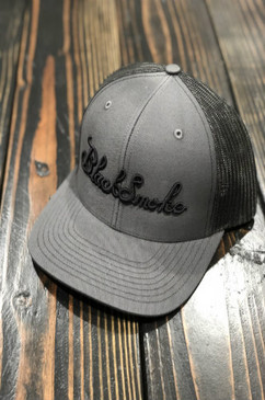 Smoked Out Black Smoke Snap Back