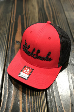 Red Black Smoke Flexfit