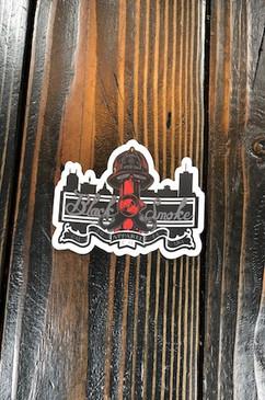 City Scape Sticker