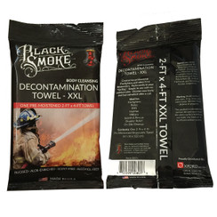 Black Smoke Towel
