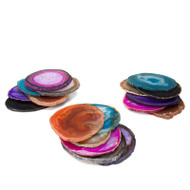 Brazilian Agate Coaster - Set of Six