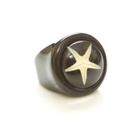 Children's Ring-White Starfish