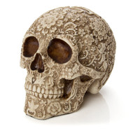 Floral Skull, Resin