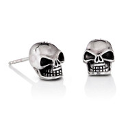 Large Skull Stud Earrings