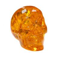 Faux Amber Skull