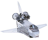 Metal Space Shuttle Puzzle