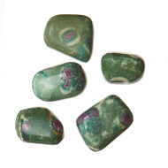 Tumbled Ruby in Fuchsite