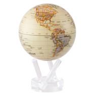 Glossy Antique Globe - Thumbnail