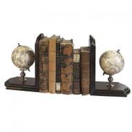 Heaven & Earth Globe Bookends