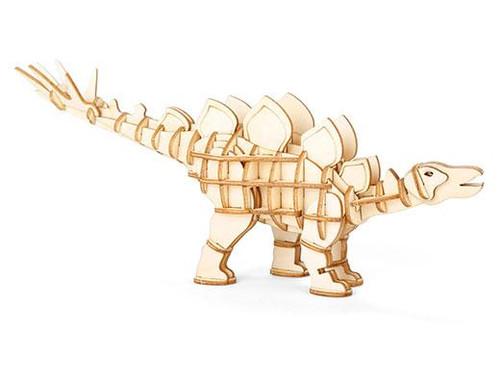 Stegosaurus 3D Wooden Puzzle Thumbnail