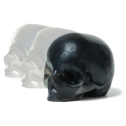Black Organic Oil Skull Soaps