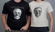 Evolution Skull T-Shirt - Thumbnail