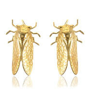 Hanging Cicada Earrings