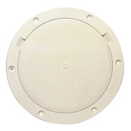 """Beckson 8"""" Non-Skid Pry-Out Deck Plate - Beige"""
