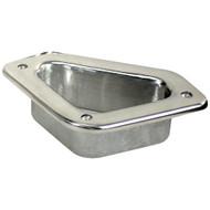 "Whitecap Hawse Pipe - 316 Stainless Steel - 4-3\/4"" x 2-3\/4"""