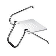Whitecap White Poly Swim Platform w\/Ladder f\/Outboard Motors