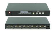 4x1 4:1 VGA RGBHV PC HDTV Video Selector Switcher w/ Remote (SVGA WUXGA) SB-4106