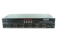 8x4 8:4 VGA PC RGBHV Video + Stereo Audio Matrix Switch Switcher + Mount SB-4184