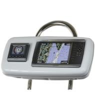 """NavPod GP1040-02 SystemPod Pre-Cut f\/Garmin 4008\/4208 & 1 Instrument f\/9.5"""" Wide Guard"""