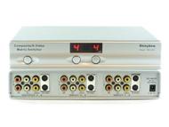4x2 4:2 Composite RCA S-Video + Stereo Audio Matrix Switcher with Remote SB-5450